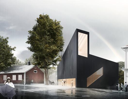 Projekt Albert. Image Courtesy of JKMM Architects
