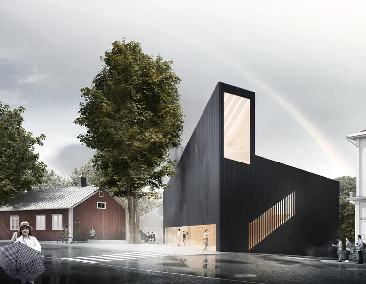 JKMM Designs New Tammisaari Museum Outside Helsinki, Projekt Albert. Image Courtesy of JKMM Architects