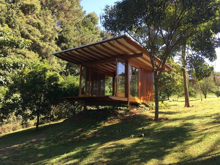 Pavilhão de meditação Ibiuna VF / DT Estudio, © Carol Ribeiro – Revoada Estudio