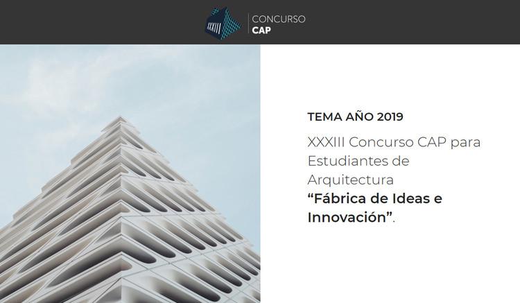 Concurso CAP para estudiantes de Arquitectura 2019