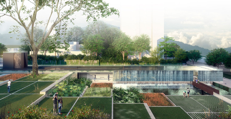 DARP, segundo lugar en diseño del memorial en el ex Edificio Mónaco en Medellín, Cortesía de DARP
