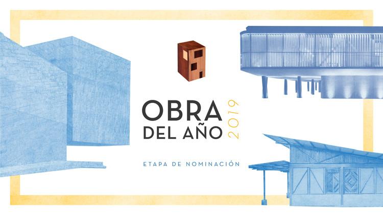 Nominaciones abiertas al premio Obra del año 2019