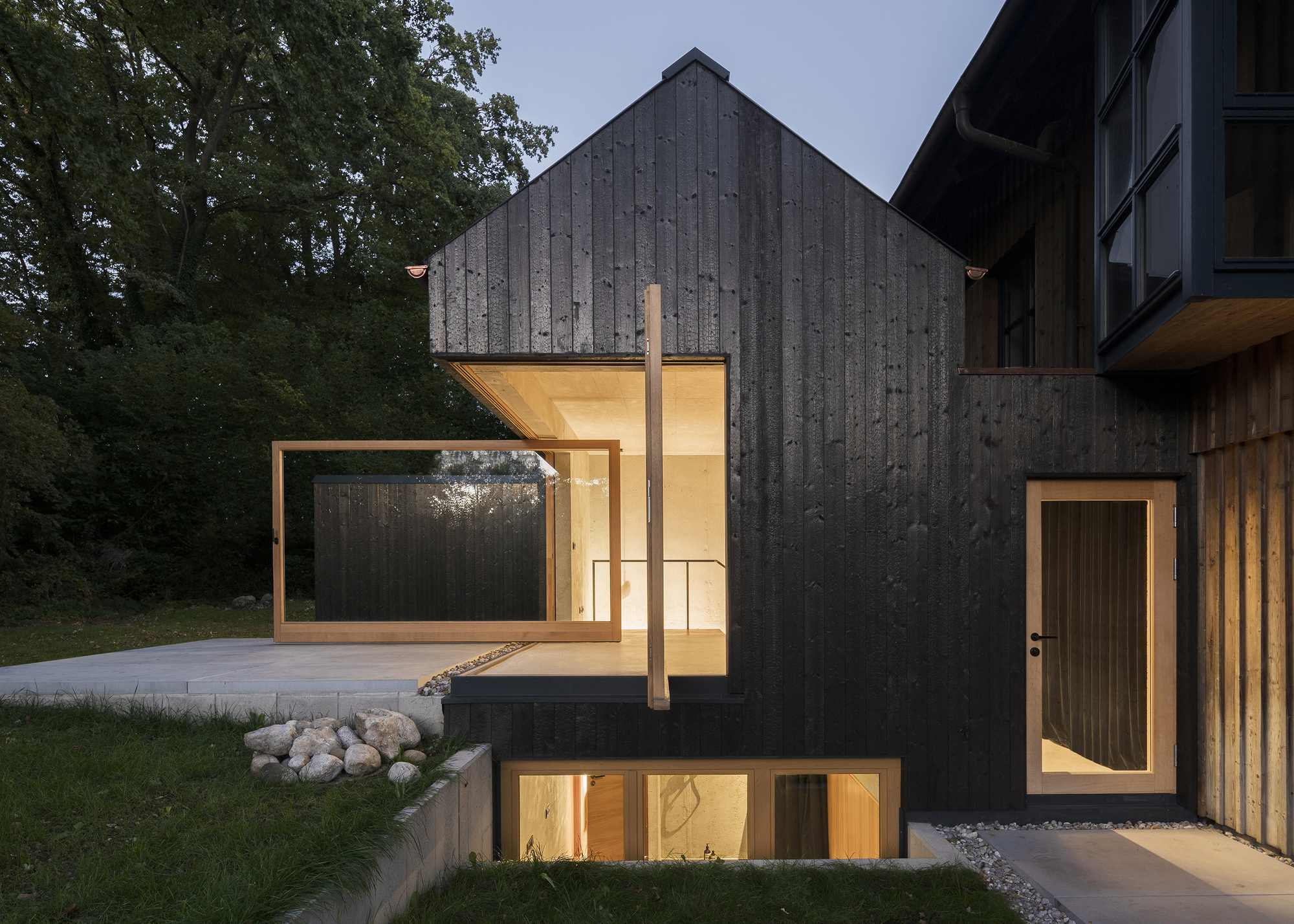 The Black House Buero Wagner Archdaily