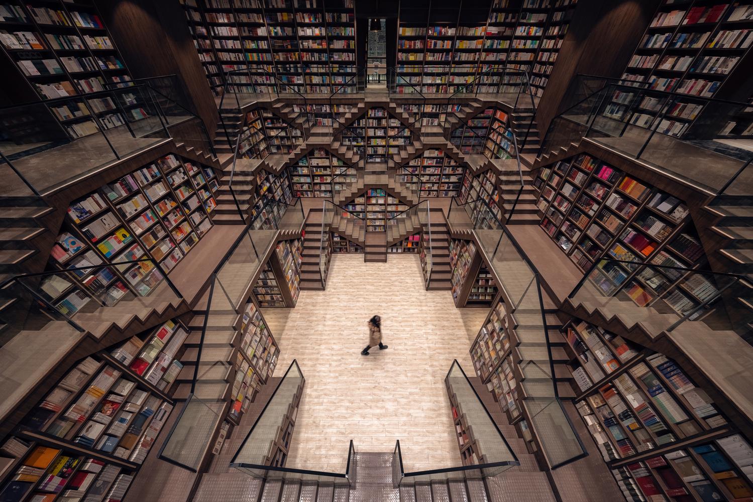 Chongqing Zhongshuge Bookstore / X+Living