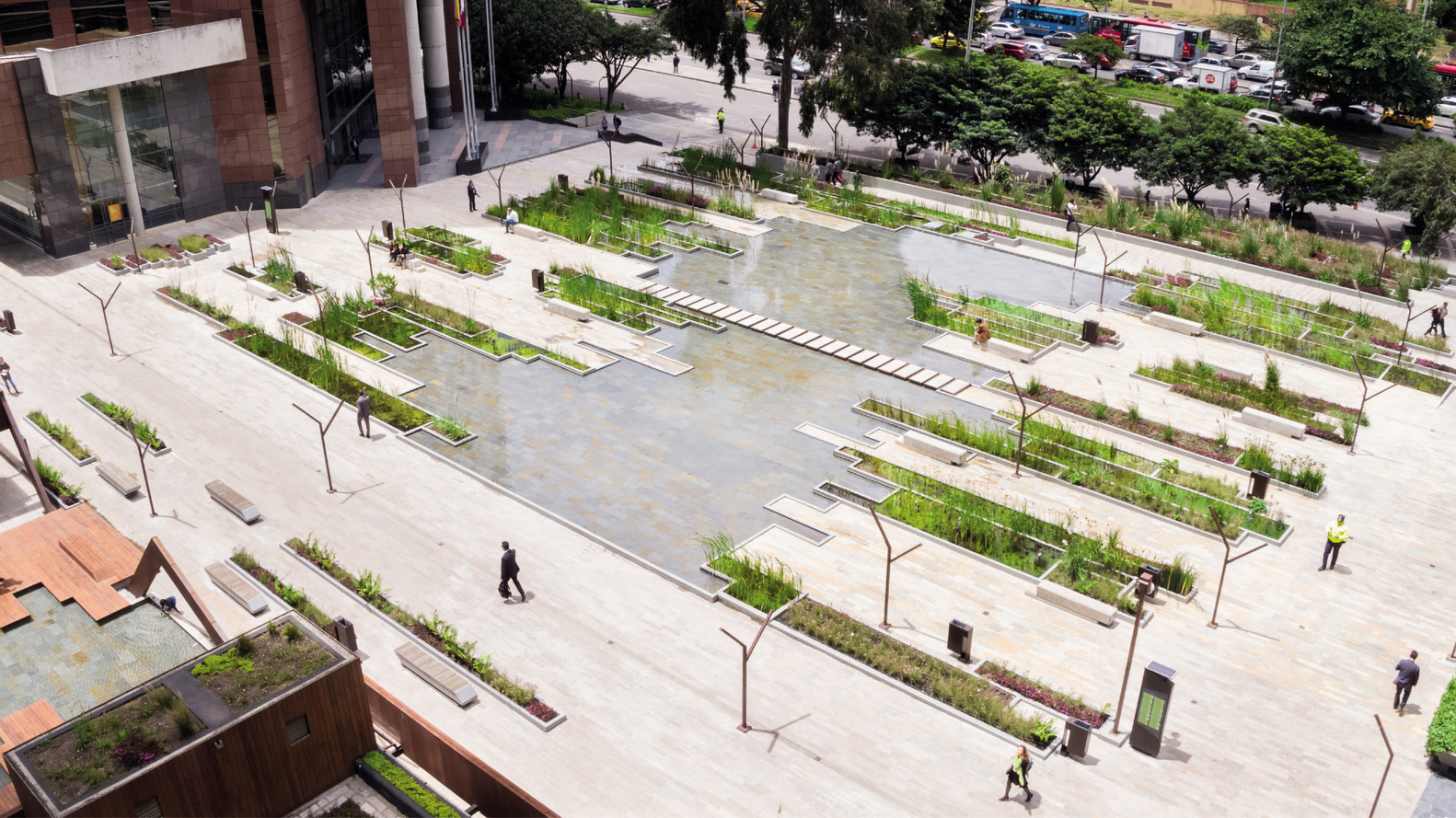 gallery of 100 public spaces  from tiny squares to urban parks