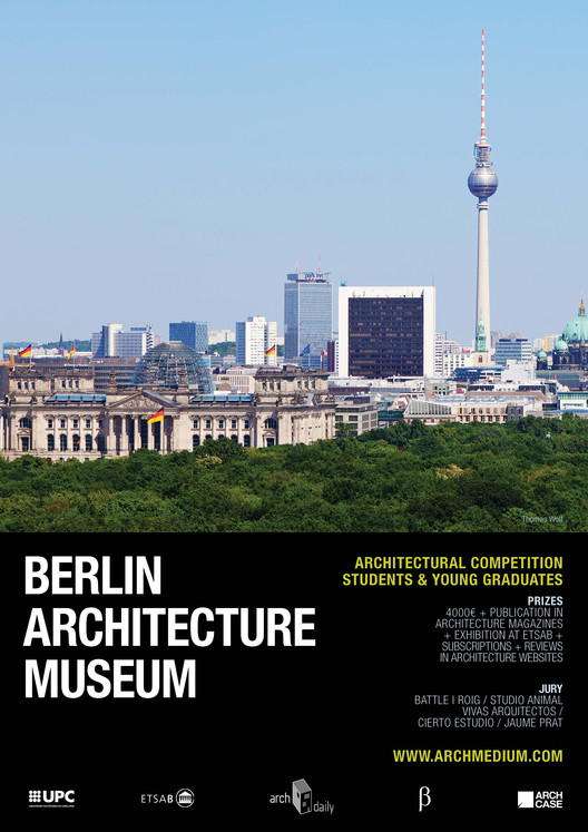 Berlin Architecture Museum Student and Young Architects Competition