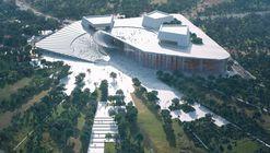 Snøhetta's Shanghai Grand Opera House Evokes the Image of an Unfolding Fan
