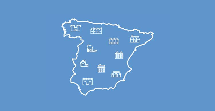Un recorrido por la vivienda tradicional de España, Cortesía de Borja Fernández