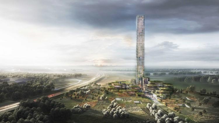 Tallest Tower in Western Europe Wins Approval in Rural Denmark, Bestseller Tower. Image Courtesy of Dorte Mandrup