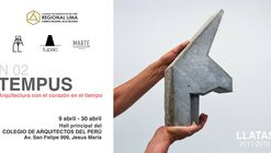 Muestra 'TEMPUS, Arquitectura con el corazón en el tiempo'