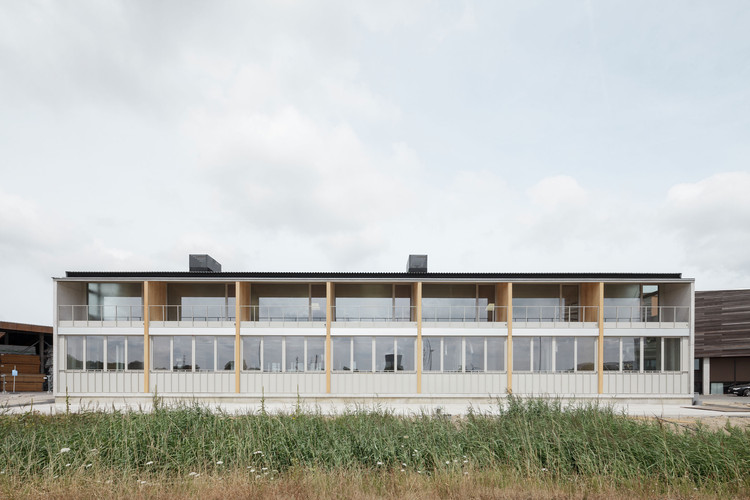 Van Hoorebeke Timber Gent Warehouse / TRANS architectuur I stedenbouw, © Stijn Bollaert