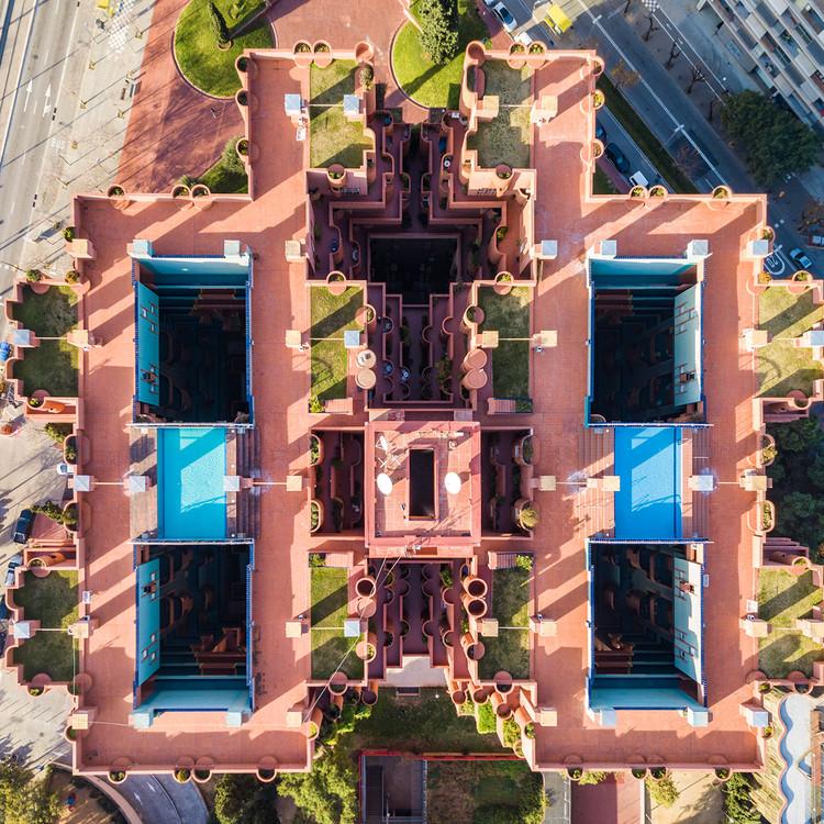 Fotografías aéreas en drone de Barcelona , © Márton Mogyorósy