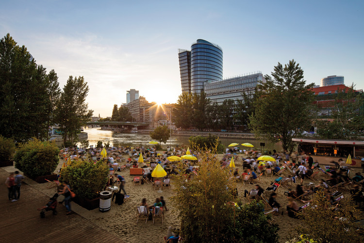 The World's Most Liveable Cities in 2019, Strandbar Herrmann. Vienna, Austria. Image © Christian Stemper, via Vienna Tourist Board