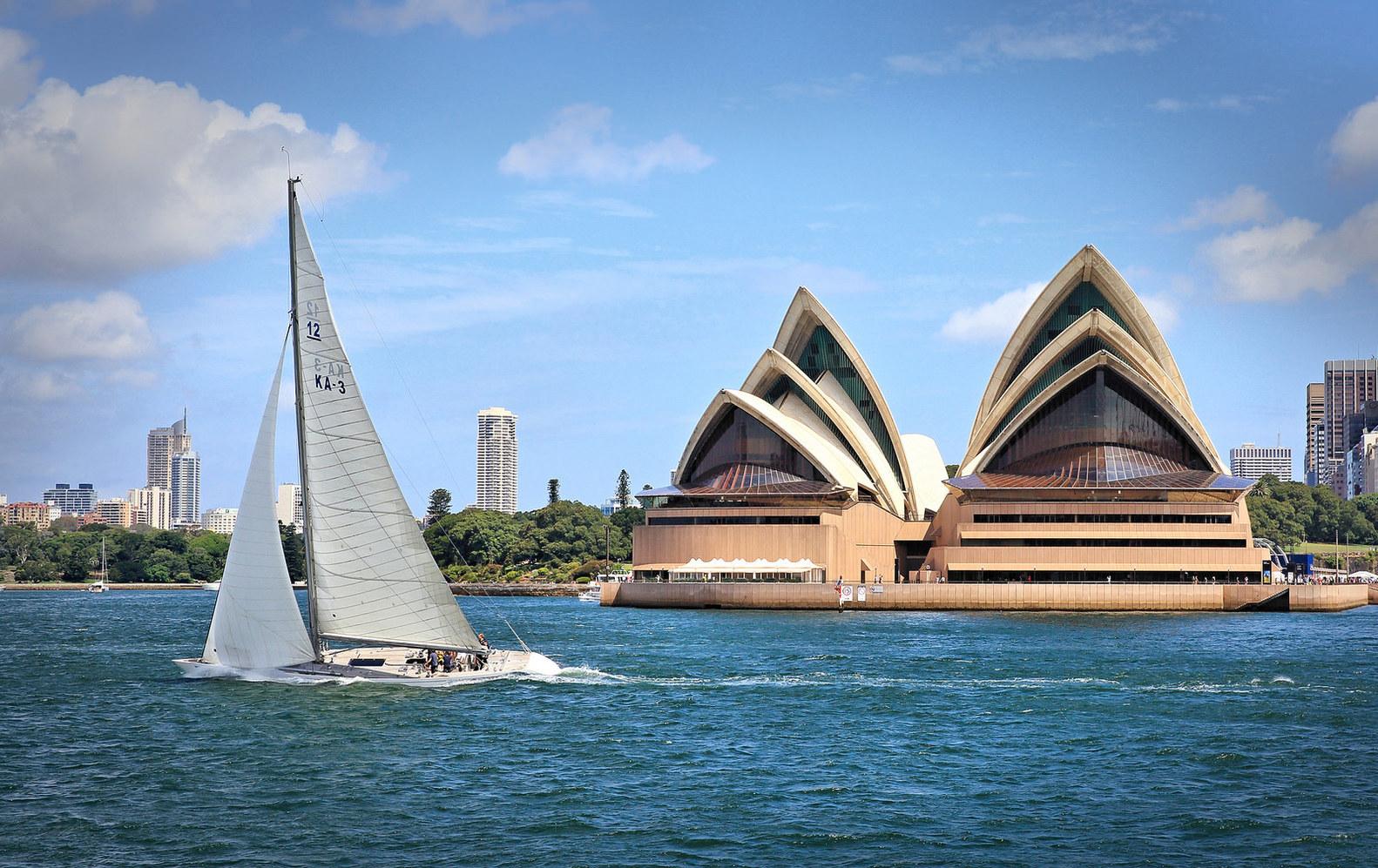 Sidney, Austrália. Foto: Kevin Rheese / Flickr.