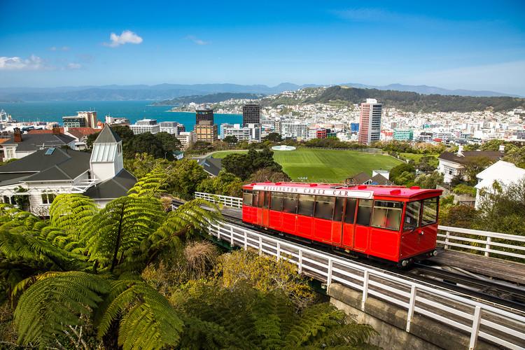 Wellington, Nova Zelândia. Foto: Victor Maschek.