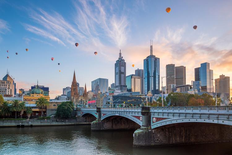 Melbourne, Austrália. Foto: f11photo.
