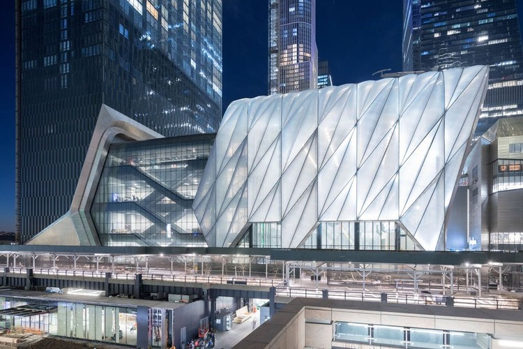 Se inaugura The Shed de Diller Scofidio + Renfro en Nueva York, The Shed. Imagen © Iwan Baan