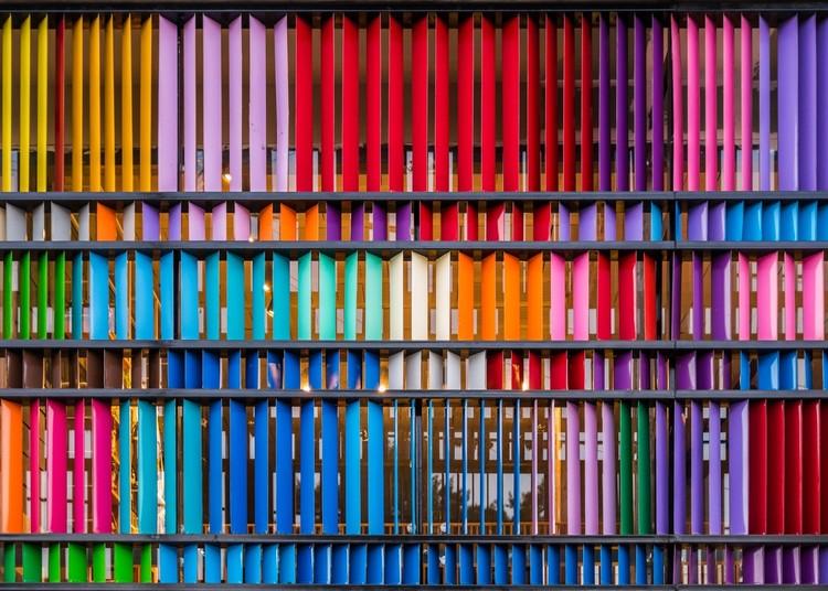 El color en la arquitectura argentina, © Gonzalo Viramonte
