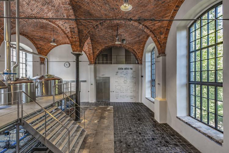 The Kamenice Brewery / OTA atelier, © Benedikt Markel