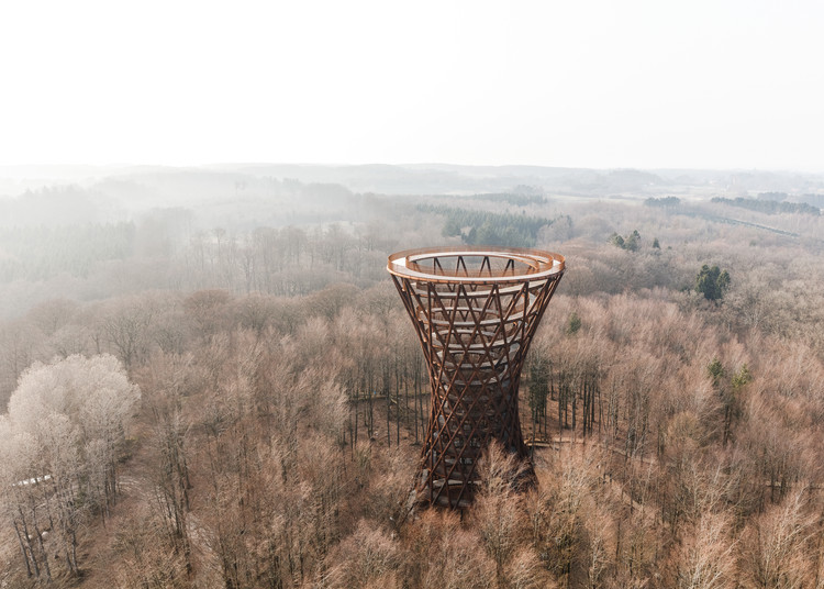 Camp Adventure Observation Tower / EFFEKT, © Rasmus Hjortshoj