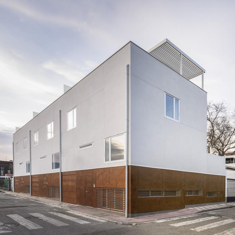 Tres viviendas en Armilla / Martinez y Soler Arquitectura, © Fernando Alda