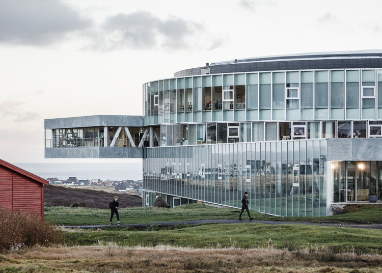 Universidad Glasir Tórshavn / BIG, © Rasmus Hjortshoj