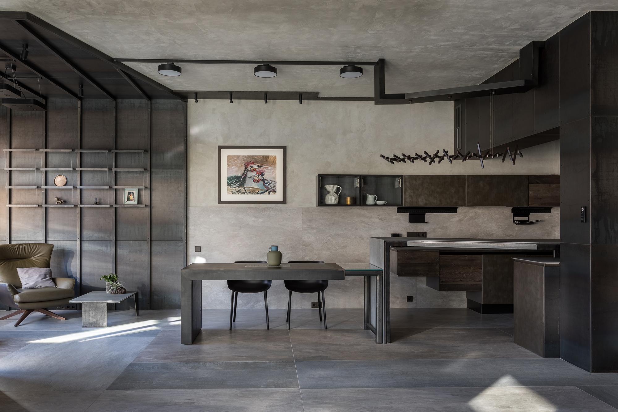 The Grey Interiors / Alexey Rozenberg