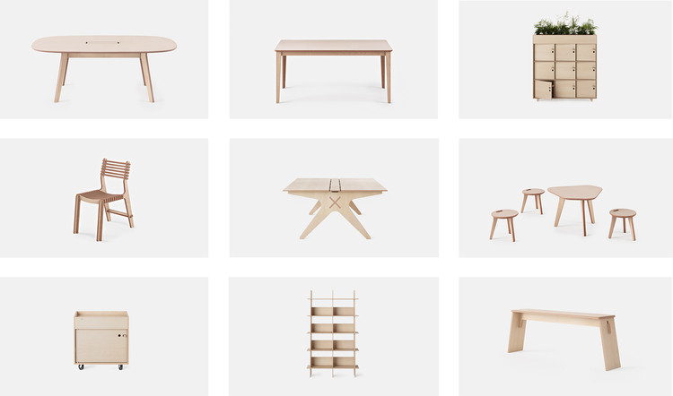 Open Source Furniture: Download, Print And Build Online, Cortesia de Opendesk