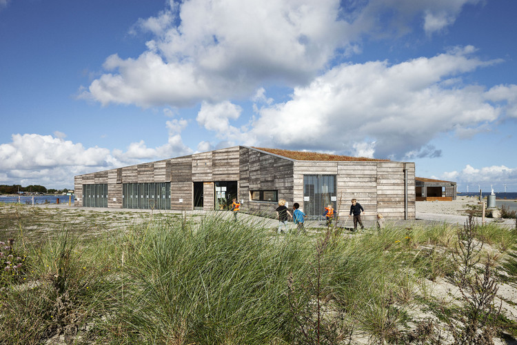 Nature Center Amager Beach / JJW Arkitekter, © Stamers Kontor