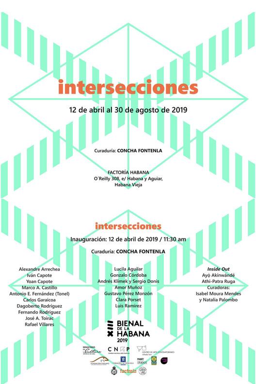 Bienal de la Habana 2019 presenta: Intersecciones