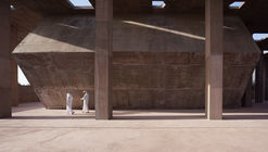 Pearling Site Museum and Entrance / Valerio Olgiati