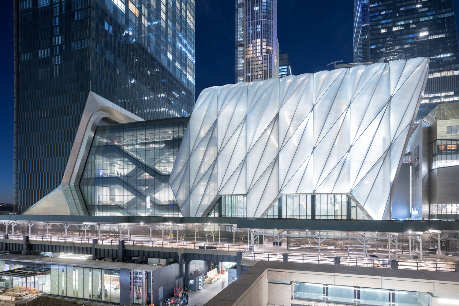 The Shed, a Center for the Arts / Diller Scofidio + Renfro  | Rockwell Group