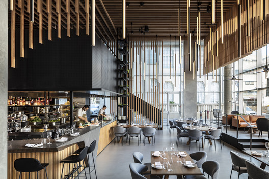 L28 Culinary Platform / Kimmel Eshkolot Architects