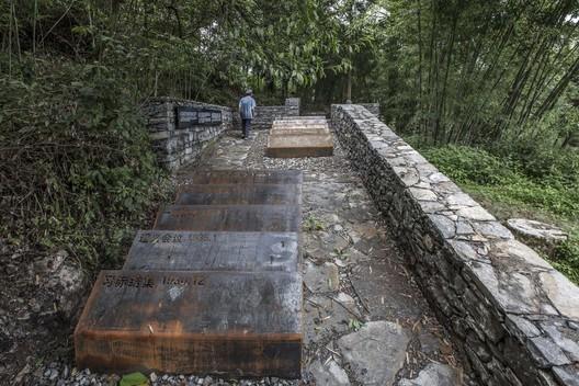 The memorial area. Image © Dongzi Jiao