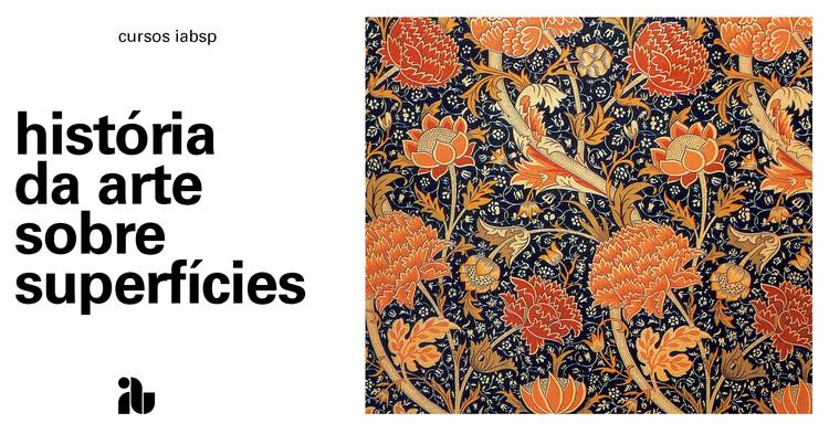 História da arte sobre superfícies, cartaz_curso
