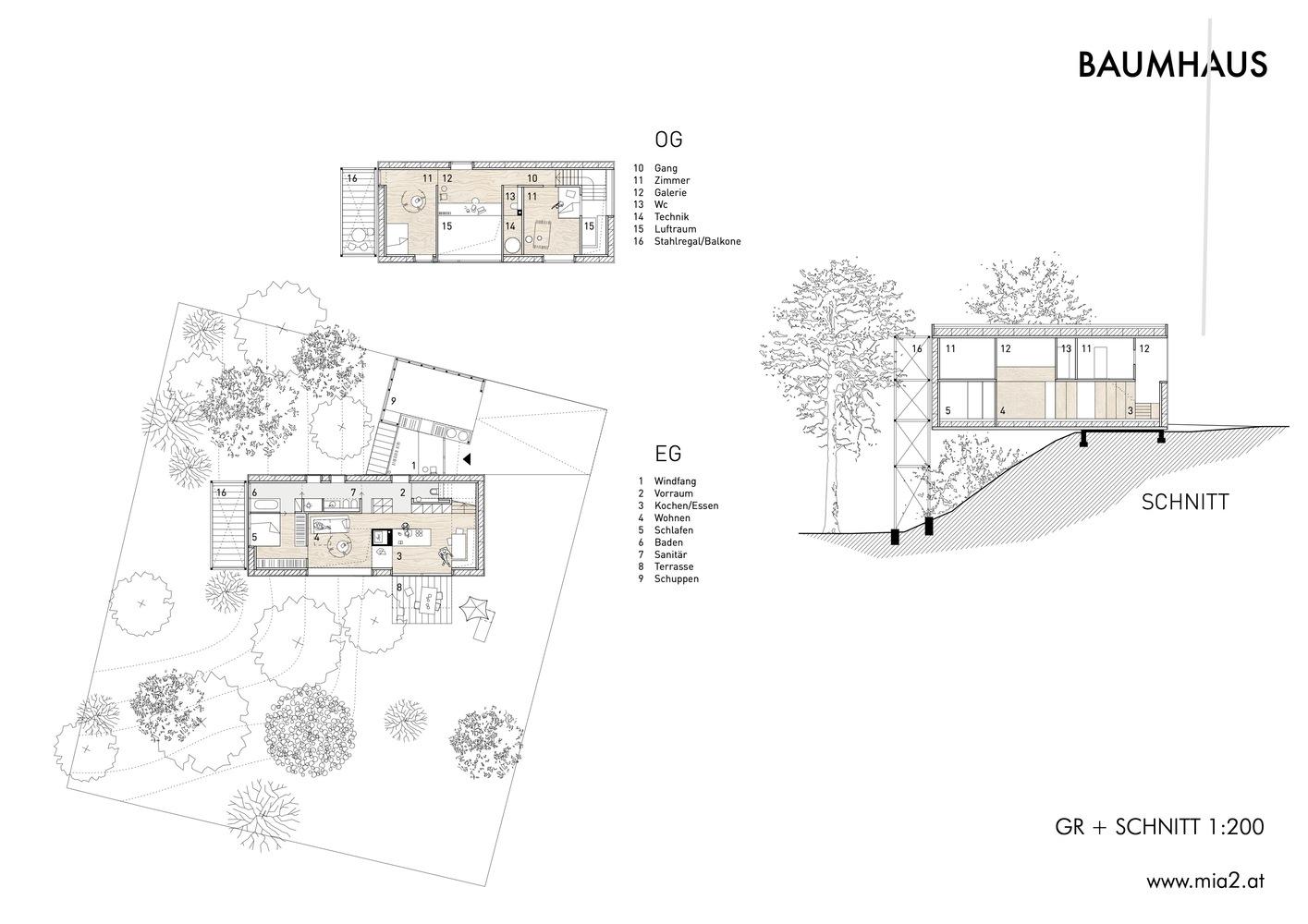 Gallery Of Baumhaus Treehouse Mia2 Architektur 13