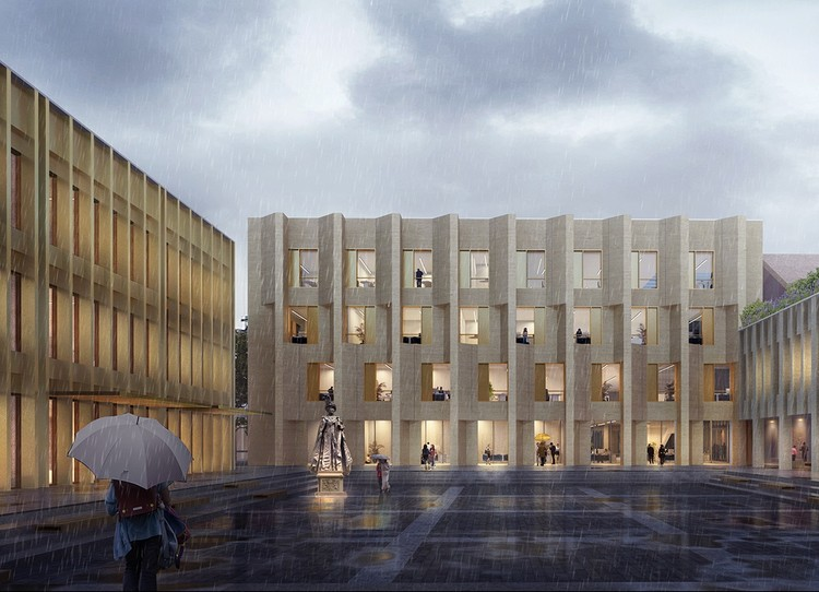 Broadway Malyan Design New Westminster Campus, Chengdu Westminster School. Image Courtesy of Broadway Malyan