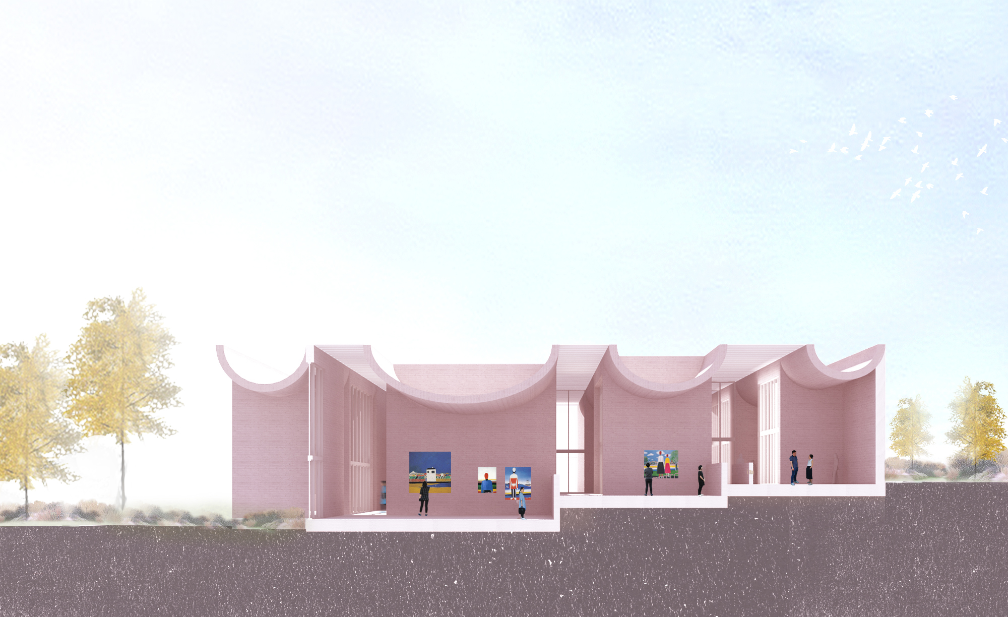 Gallery Of More Architecture Designs Village Inspired Art Museum