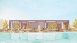 MORE Architecture Designs Village-Inspired Art Museum Ginkgo Gallery
