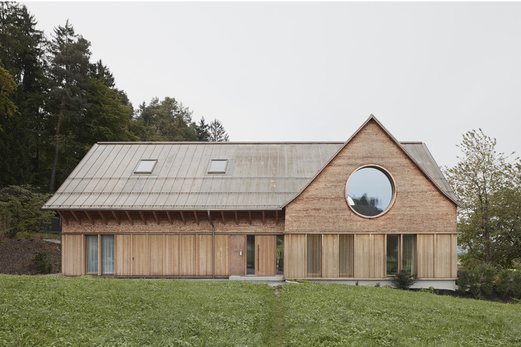 House with Three Eyes / Innauer-Matt Architekten, © Adolf Bereuter