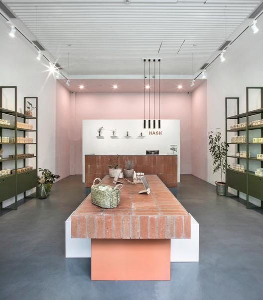 HASH Skincare Shop  / BARDI studio