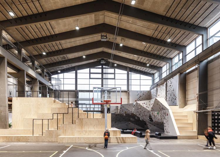 GAME Streetmekka Aalborg / JAJA Architects, © Rasmus Hjortshoj