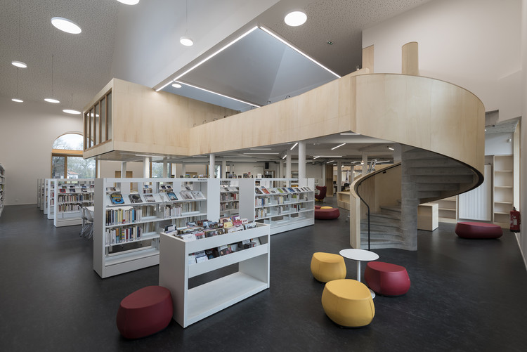 Biblioteca de medios Lunéville / Studiolada, © Ludmilla Cerveny