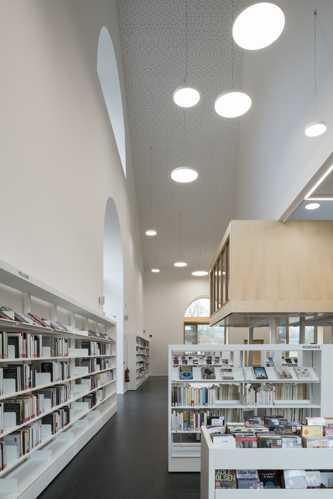 Gallery of Lunéville Multimedia Library / Studiolada - 14