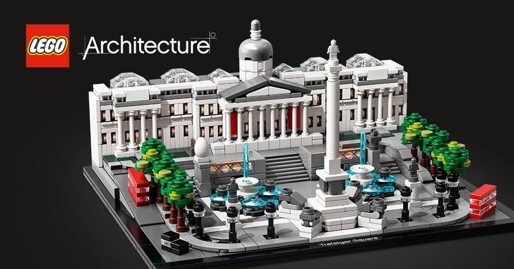 LEGO's Next Architecture Set will be London's Trafalgar Square, © LEGO via Facebook