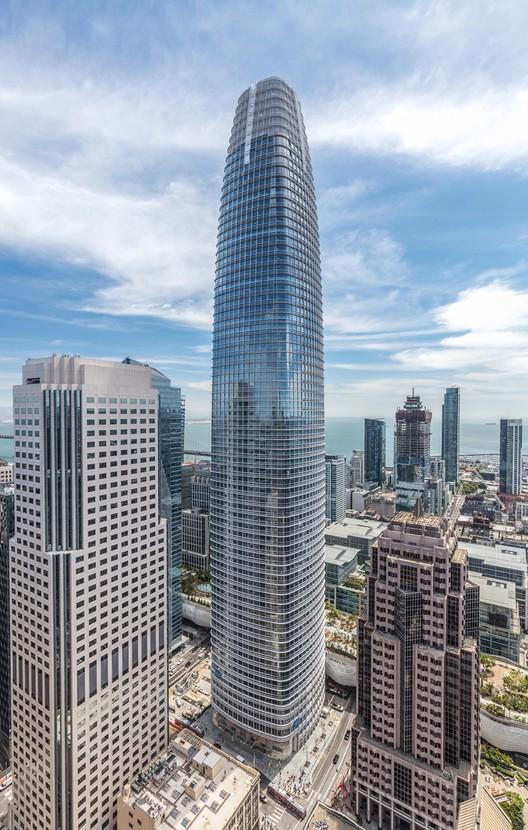 CTBUH divulga lista dos melhores edifícios em altura de 2019, Salesforce Tower, San Francisco / Pelli Clarke Pelli Architects. Image Jason O'Rear