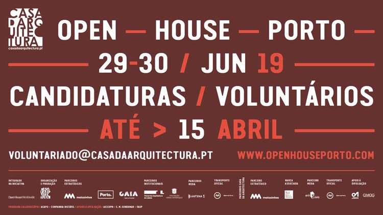 Open House Porto: arquitetura de portas abertas em Porto e seus arredores, Divulgação