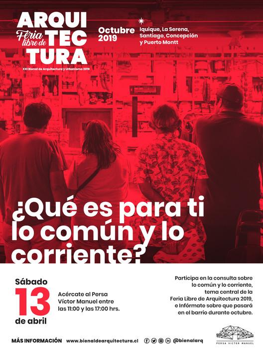 """Feria Libre de Arquitectura invita a pensar en """"lo común y lo corriente"""""""