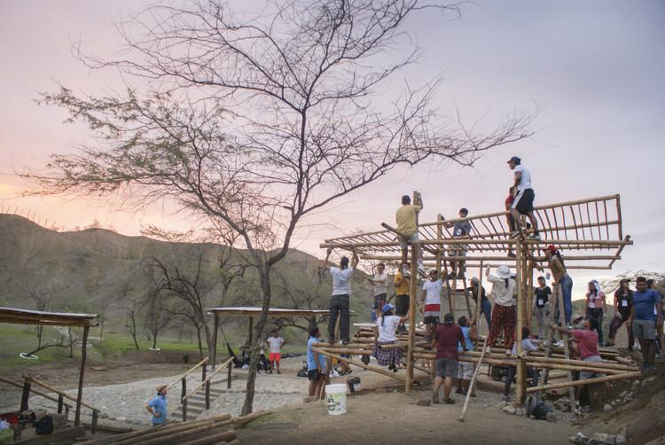 TSI Máncora 2019: estudiantes construyen en los paisajes ocultos de la costa peruana, © Delia Esperanza