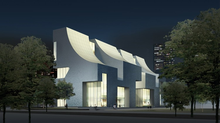 Steven Holl Unveils Curved Mixed-Use CIFI Building in Beijing, © Steven Holl Architects